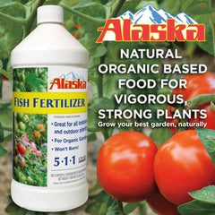 Alaska Fish Fertilizer - Garden Effects -Indoor and outdoor Garden Supply