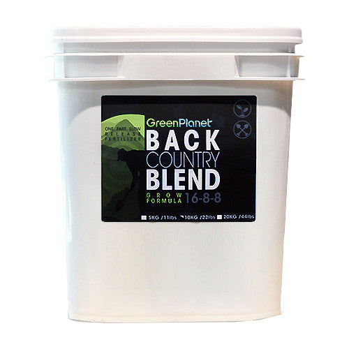 Green Planet Back Country Blend Grow - Garden Effects -Indoor and outdoor Garden Supply