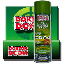Doktor Doom House & Garden Insecticide Spray 515g - Garden Effects -Indoor and outdoor Garden Supply