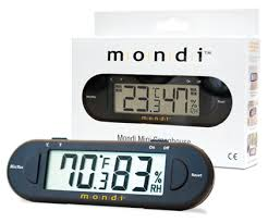 Mondi Minni Greenhouse Thermo-Hydrometer - Garden Effects -Indoor and outdoor Garden Supply