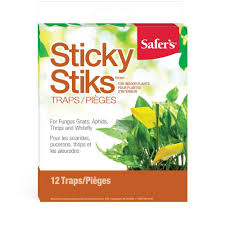 Safers Sticky Insect traps - Garden Effects -Indoor and outdoor Garden Supply