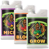 Advanced Nutrients PH Perfect Bloom, Micro and Grow - Garden Effects -Indoor and outdoor Garden Supply