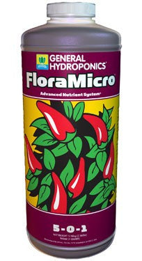 General Hydroponics Flora Micro - Garden Effects -Indoor and outdoor Garden Supply