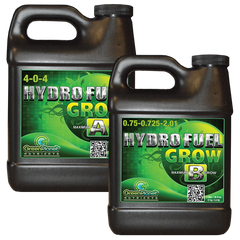 Green Planet Hydro Fuel Grow A/B - Garden Effects -Indoor and outdoor Garden Supply