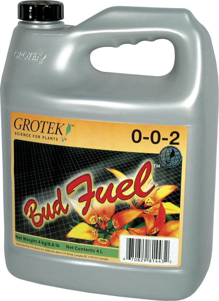 Grotek Bud Fuel - Garden Effects -Indoor and outdoor Garden Supply