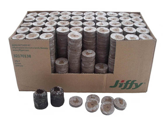 Jiffy 7 Peat Pellets - Garden Effects -Indoor and outdoor Garden Supply