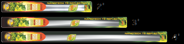 Sunblaster T5 NanoTech Reflector Only - Garden Effects -Indoor and outdoor Garden Supply