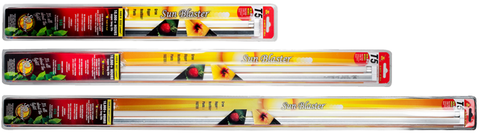 Sunblaster T5 fluorescent bulb with fixture