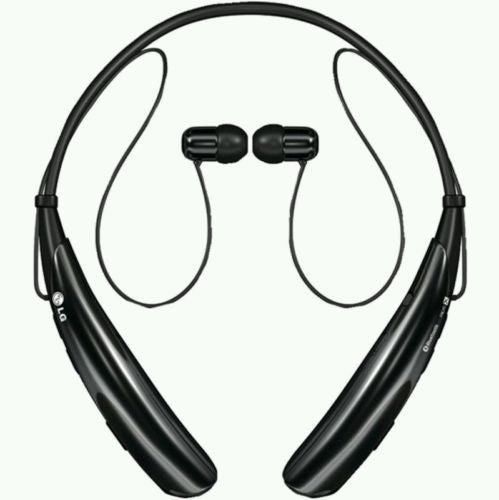 Brand New  LG Tone Pro HBS-750 Wireless Bluetooth Stereo Headset Black, Headsets- WorldWide Accessories