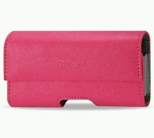 HORIZONTAL PINK Leather Pouch Holder Belt Clip Holster Case for iPhone 5 5S, Cases, Covers & Skins- WorldWide Accessories