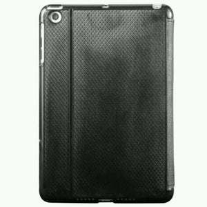 APPLE IPAD MINI  3- FOLDING FITTED CASE (Black), Cases, Covers, Keyboard Folios- WorldWide Accessories