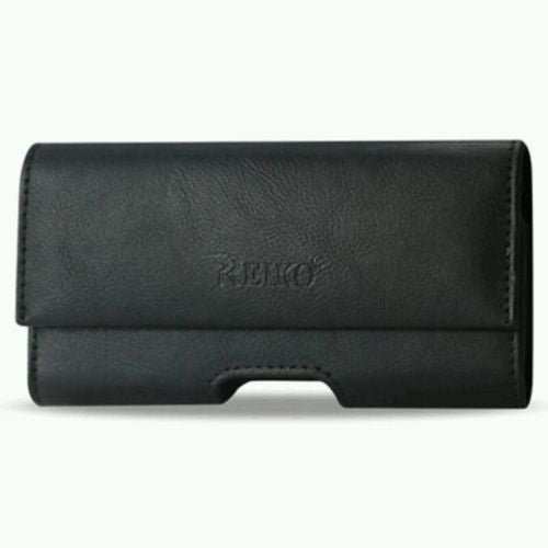 HORIZONTAL BLACK Leather Pouch Holder Belt Clip Holster Case for iPhone 5 5S, Cases, Covers & Skins- WorldWide Accessories