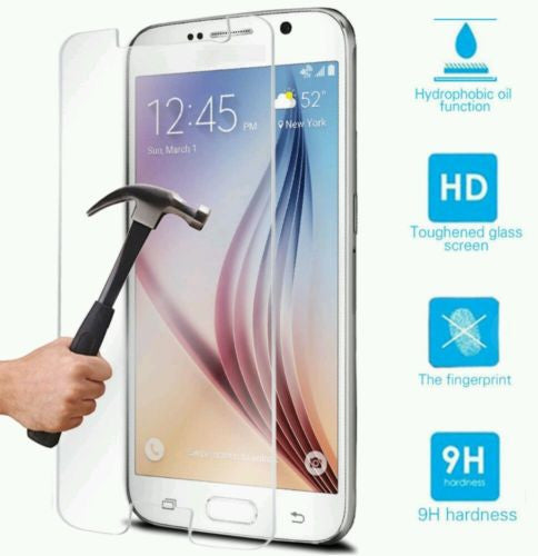 Samsung Galaxy S6 Tempered Glass Screen Protector 0.5 mm, Screen Protectors- WorldWide Accessories