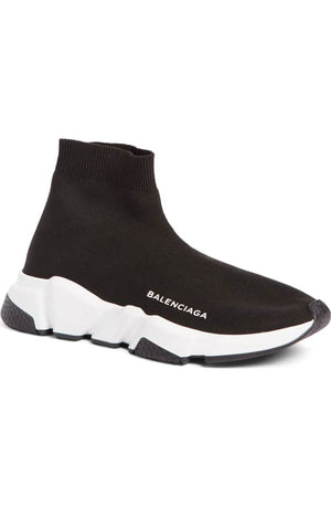Balenciaga Men Speed Trainer Black/White