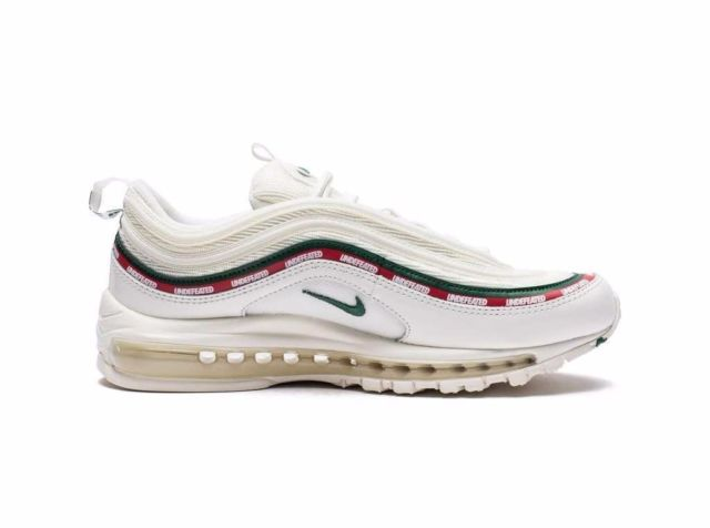 Undefeated X Air Max 97 White