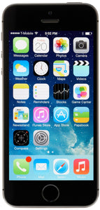 Apple iPhone 5s Unlocked Cellphone, 16GB, Space Gray, Smartphones- WorldWide Accessories