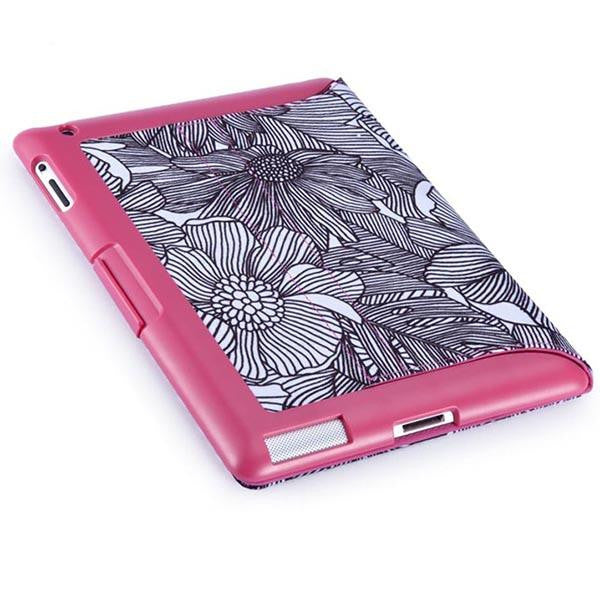 sports shoes 1ca1c 4673a Speck FitFolio Case For iPad 2 3 4 Fresh Bloom Pink/Black