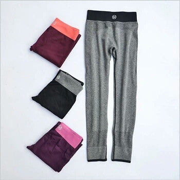 Women's Sport Leggings Fitness High Waist Elastic, Leggings- WorldWide Accessories