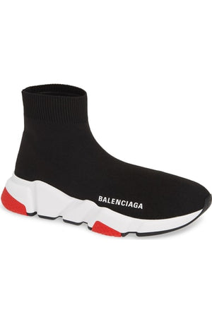 Balenciaga Men Speed Trainer Black/Red