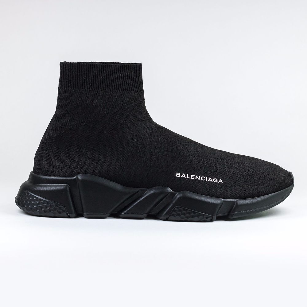 Balenciaga Men Speed Trainer Black