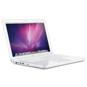 Apple 13-Inch MacBook T7200 2.0 GHz Intel Core 2 Duo Processor, White, Apple Laptops- WorldWide Accessories