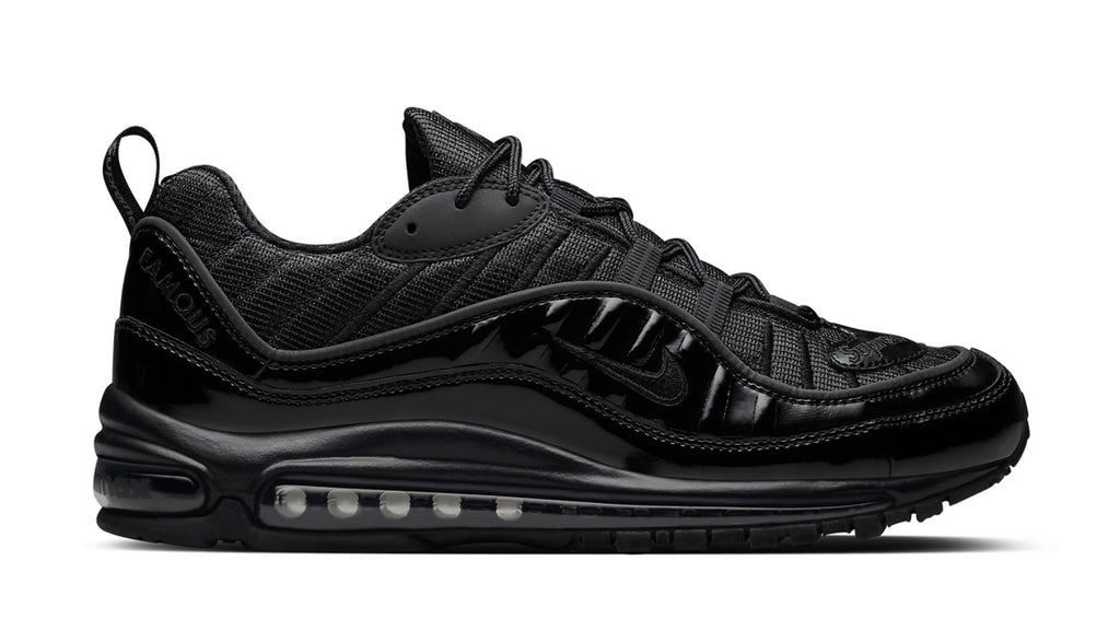 Air Max 98 Supreme Black, Shoes- WorldWide Accessories