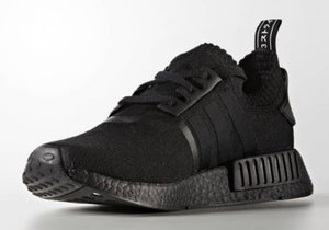 a9a352ac0cf32 Adidas NMD R1 PK Japan Triple Black Mens