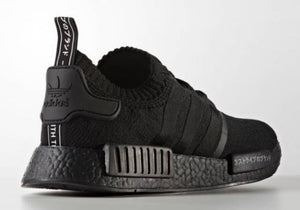Adidas NMD R1 PK Japan Triple Black Woman, Shoes- WorldWide Accessories