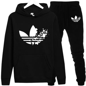 Adidas Men Fleece Tracksuit