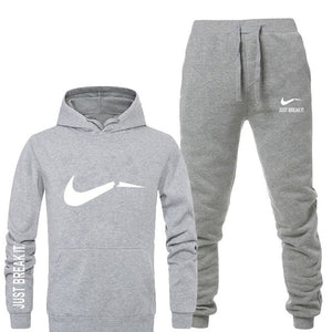 Just Break It Men Tracksuit Fleece Set