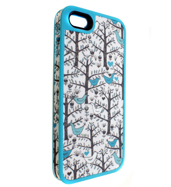 Speck Fabshell iPhone Se, iPhone 5/5s Case Lovebird Peacock, Cases, Covers & Skins- WorldWide Accessories