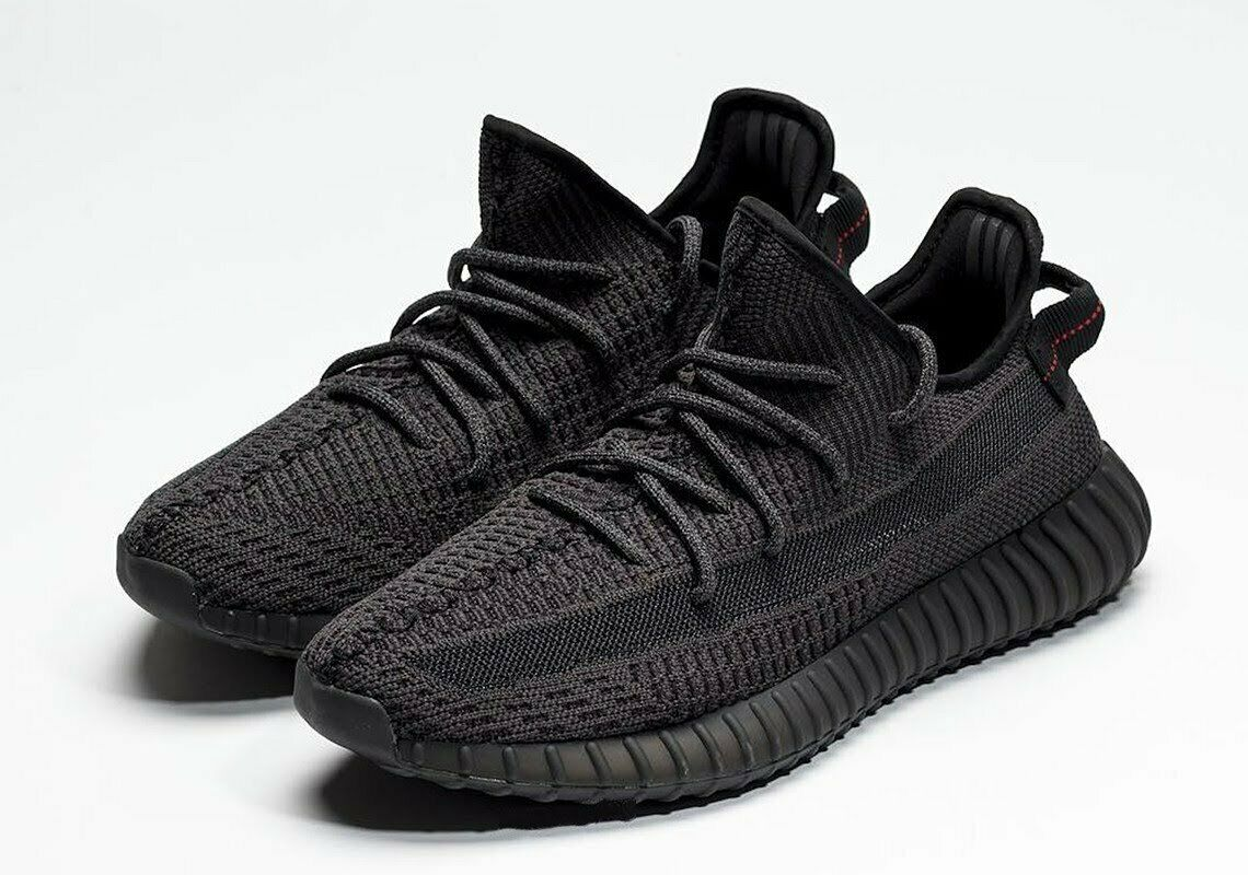 new style 3ace4 2090c Adidas Yeezy Boost 350 V2 Black Reflective Mens