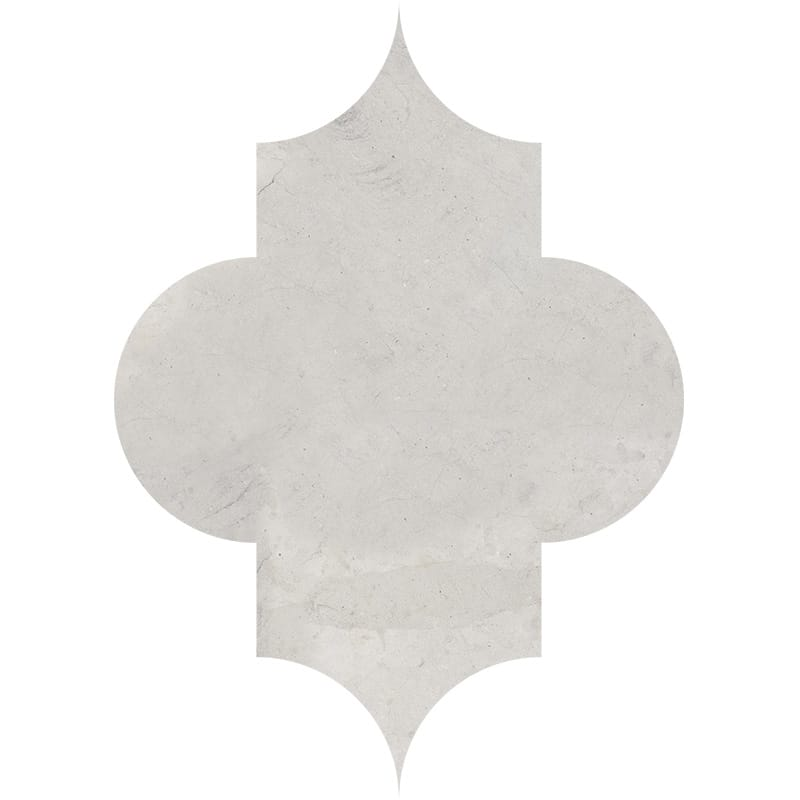products     by collection     britannia limestone tiles  Britannia Honed Arabesquette Limestone Waterjet Decos 6x8 1/4