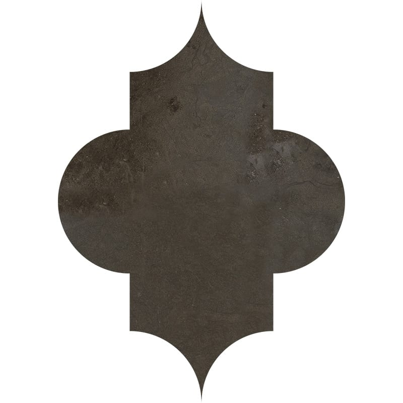 products     by collection     bosphorus limestone tiles  Bosphorus Honed Arabesquette Limestone Waterjet Decos 6x8 1/4