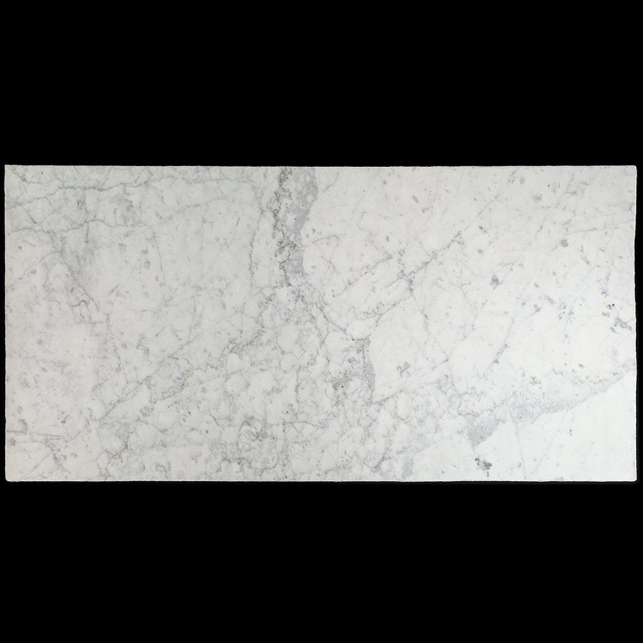 Castlerock White Carrara 18x36 Roman Finish