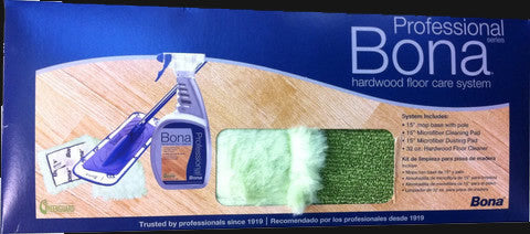 Bona Professional Series Hardwood Floor Cleaning Kit