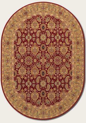 All Over Vase - Persian Red