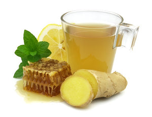 GINGER  LEMON HONEY~Cold & Flu Relief part 1
