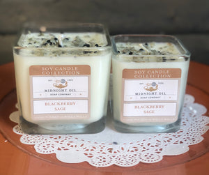 BLACKBERRY SAGE (Soy Candle)