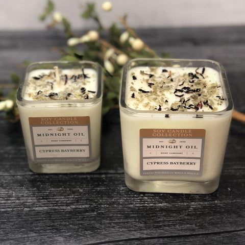 CYPRESS BAYBERRY (Soy Candle)
