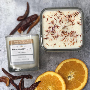 ORANGE CHILI PEPPER (Soy Candle)