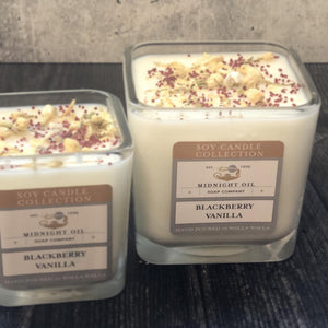 BLACKBERRY VANILLA (Soy Candle)