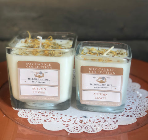 AUTUMN LEAVES Soy Candle)