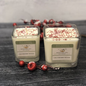 CRANBERRY WOOD (Soy Candle)