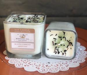 MINI BLACK CURRENT ABSINTHE (Soy Candle)