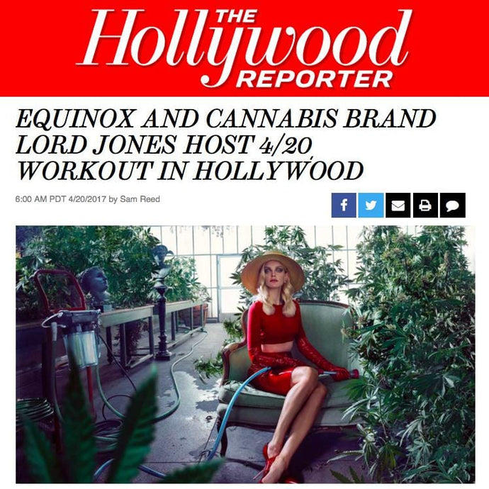 Equinox Cannabis Brand Lord Jones Host 4 20 Workout Hollywood