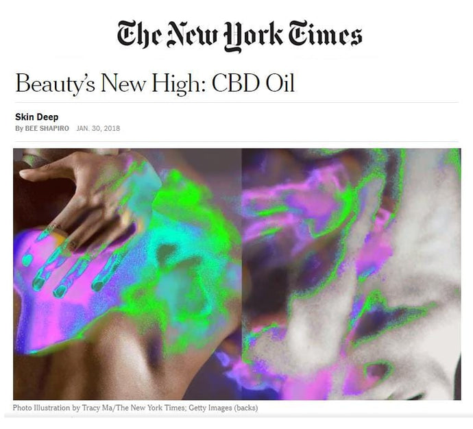 Beauty's New High: CBD Oil