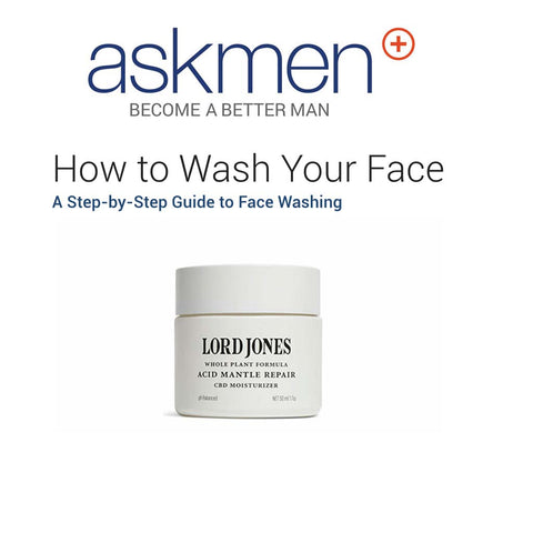 How to Wash Your Face Featuring Acid Mantle