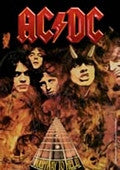 AC/DC Highway To Hell Fabric Poster