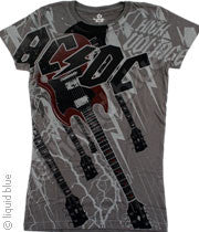 AC/DC High Voltage Long Length T-Shirt